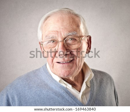 Portrait of Old Man #169463840