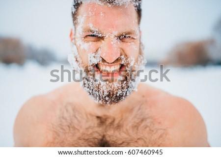 portrait of russian bearded...