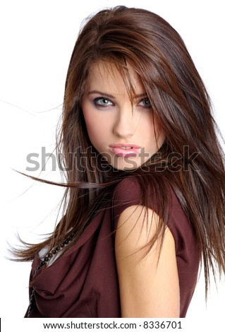stock photo : Portrait of sexy woman