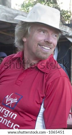 Portrait of Sir Richard Branson