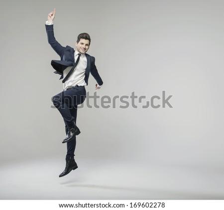 Portrait of successful businessman #169602278