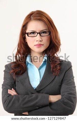 portrait of sucessful business woman