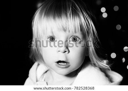 e1b2f7654 Free photos Portrait of pretty little blonde girl with beautiful big ...