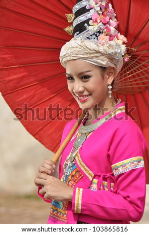 portrait of Thai women