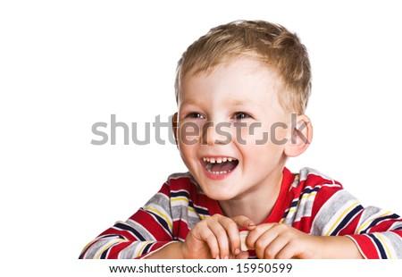 Portrait of the happy child