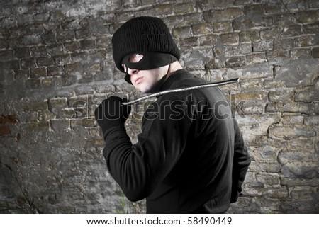 Portrait of thief