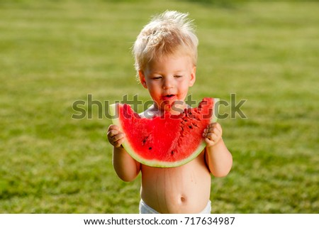 Baby Boy Watermelon Pictures