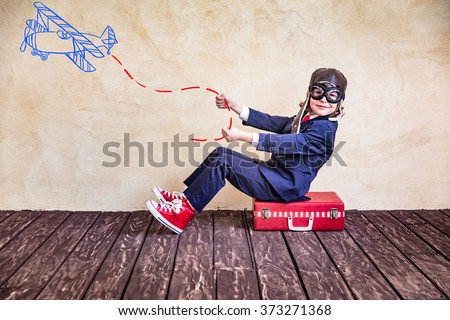 Portrait of young businessman in office. Success, creative and innovation concept