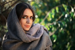 portrait of young woman, middle eastern woman