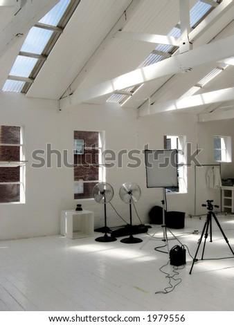 Portrait photo of a small photographic studio