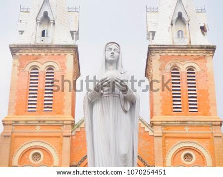 portrait picture of statue of...