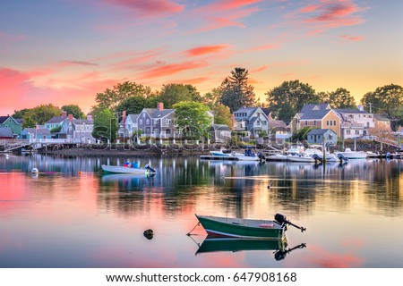Portsmouth, New Hampshire, USA townscape.