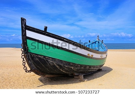 Portugal boat
