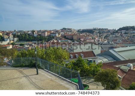 portugal  lisabon  city park ...