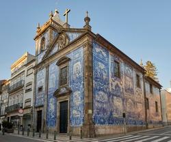 Portugal. The city of Porto. Santa Catarina Soul Chapel