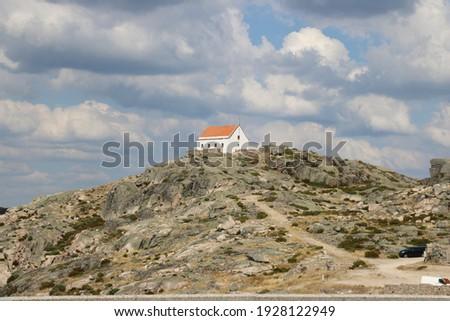 Portugal travel Serra De Estrella mountains Foto stock ©