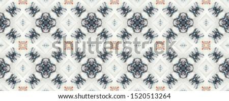 Portuguese Decorative Tiles. Portuguese Decorative Tiles Background. Daisy Geo Surface. Plant Italy Motif. Watercolor Arabian Textile. Spring Creamy