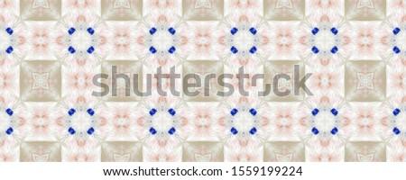 Portuguese Decorative Tiles. Portuguese Decorative Tiles Background. Daisy Tile Wall. Leaves Eastern Ornament. Patchwork Iran Design. Floral Purple