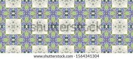 Portuguese Decorative Tiles. Portuguese Decorative Tiles Background. Flora Chevron Style. Floral Indian Textile. Geometric Italy Illustration. Flora Pastel