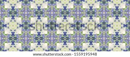 Portuguese Decorative Tiles. Portuguese Decorative Tiles Background. Floral Batik Ornate. Garden Italian Wall. Embroidery Moroccan Carpet. Plant Green