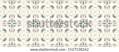 Portuguese Decorative Tiles. Portuguese Decorative Tiles Background. Garden Geo Style. Leaves Andalusia Carpet. Ornate Portugal Wall. Natural Colorful