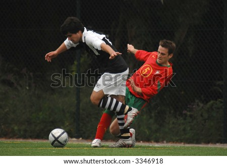 Portuguese Nacional Team of Deaf People - Caldas S. C. in soccer
