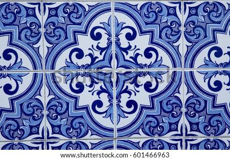 Portuguese tiles #601466963