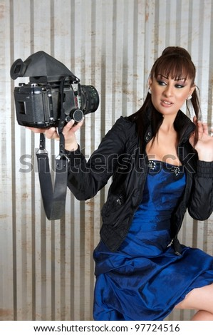 Pose - stock photo