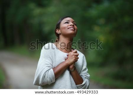 posing african, american black, girl adult fashionable model, feeling moments, enjoying, happiness
