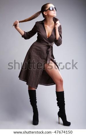 Posing girl