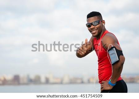 positive urban black athlete...