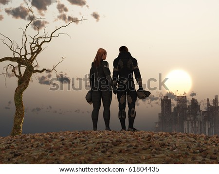 post Apocalypse couple