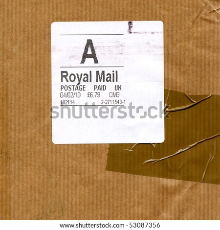 letter envelope. stock photo : Postage letter envelope for air mail shipping