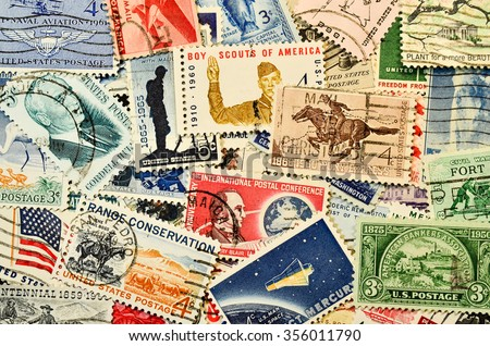 Postage stamps #356011790