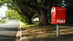 Postbox in Brisbane