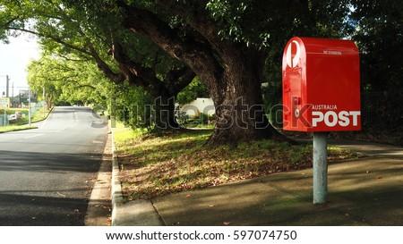 Postbox in Brisbane