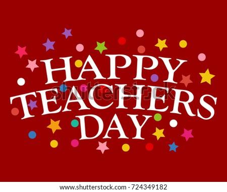 Postcard Happy Teachers Day