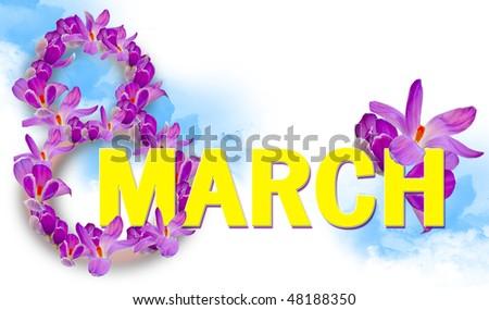 postcard international womens day