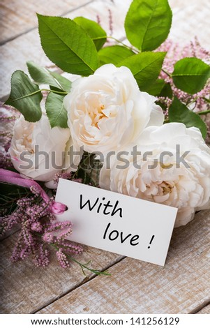 Free Photos Beautiful White Roses In The Bouquet Background For