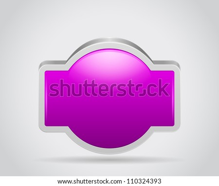 Poster sign bord for your text or design on gray white background