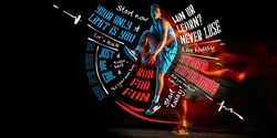 Poster. Sportive young man, professional basketball player in motion with ball isolated on dark background with lettering, graphics and quotes. Concept of active lifestyle, health, motivation