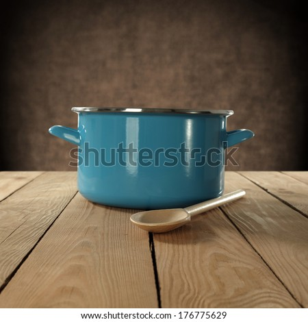 pot and spoon