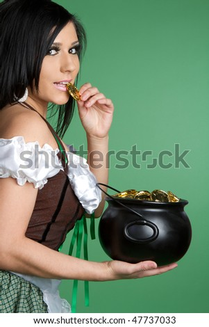 Pot of Gold Woman