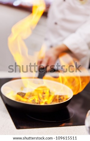 pot with fire