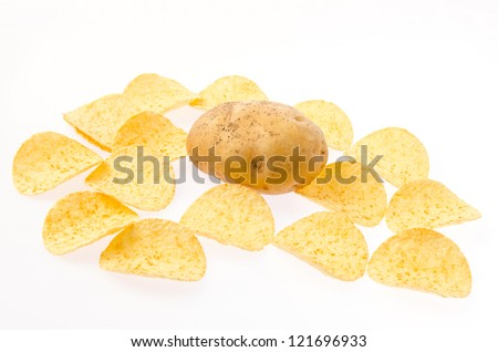 Potato and chips