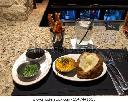 Potato Baked with Bacon #1349441513
