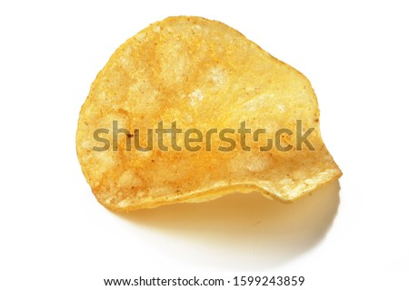 potato chip. signal  chip,snack potato chip