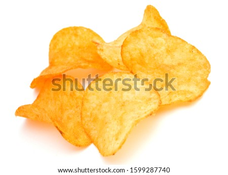 potato chips . chips, snack chips