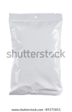 potato chips plastic pack. for another white packaging visit my gallery