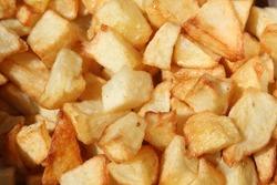 Potato cut into small pieces